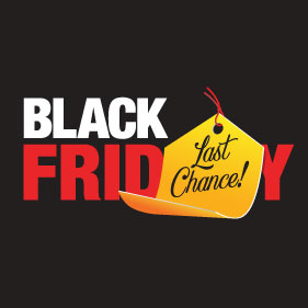 LAST CHANCE for Black Friday Deals!