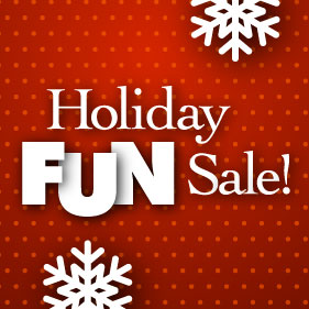 Holiday Sale is Here!
