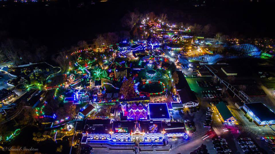 Overhead image of Dutch Winter Wonderland