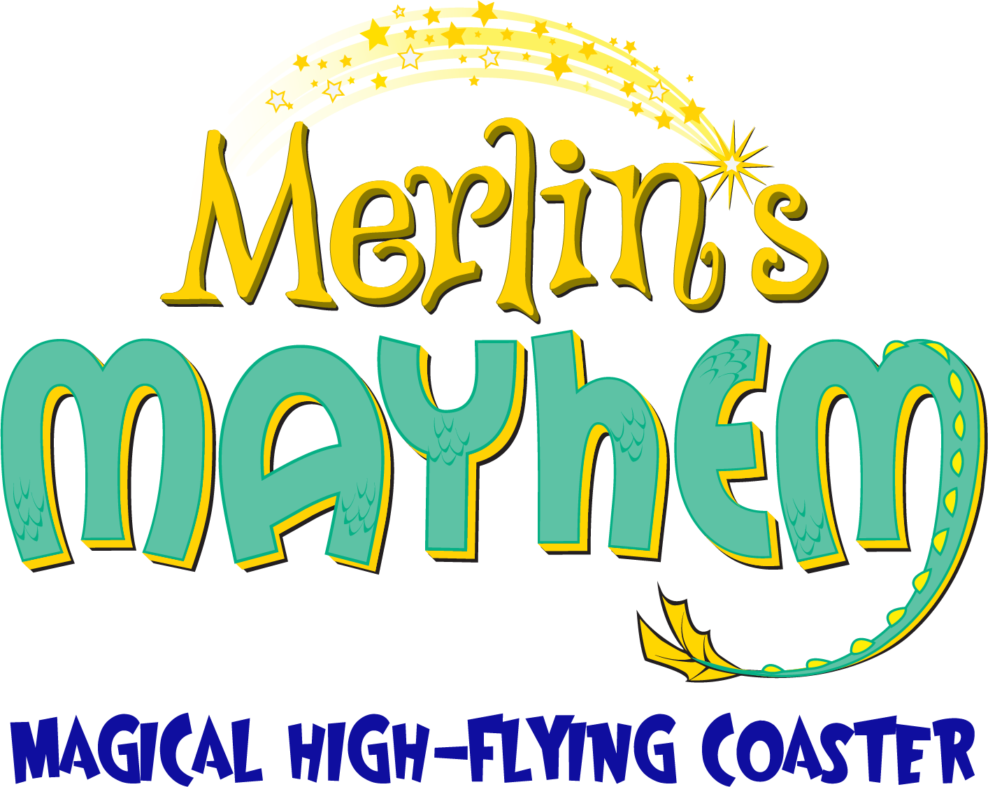 Merlin's  Mayhem Magical High-Flying Coaster